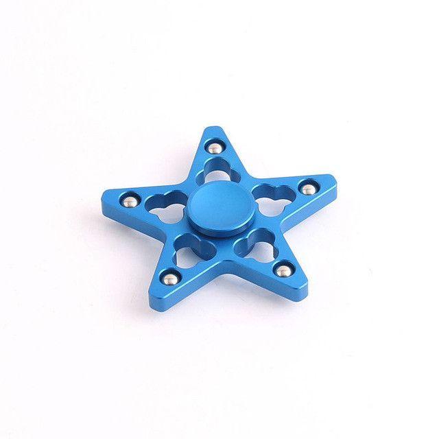 Multi Color EDC Hand Spinner Tri Fidget Focus Desk Toys Stocking Stuffer Kids/Adult