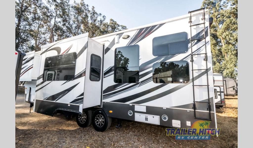 Used 2017 Keystone Rv Raptor 310ts Toy Hauler Fifth Wheel At Trailer Hitch Nipomo Ca T7751