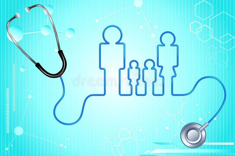 Best Screen Family Health Insurance Stock Vector Illustration Of
