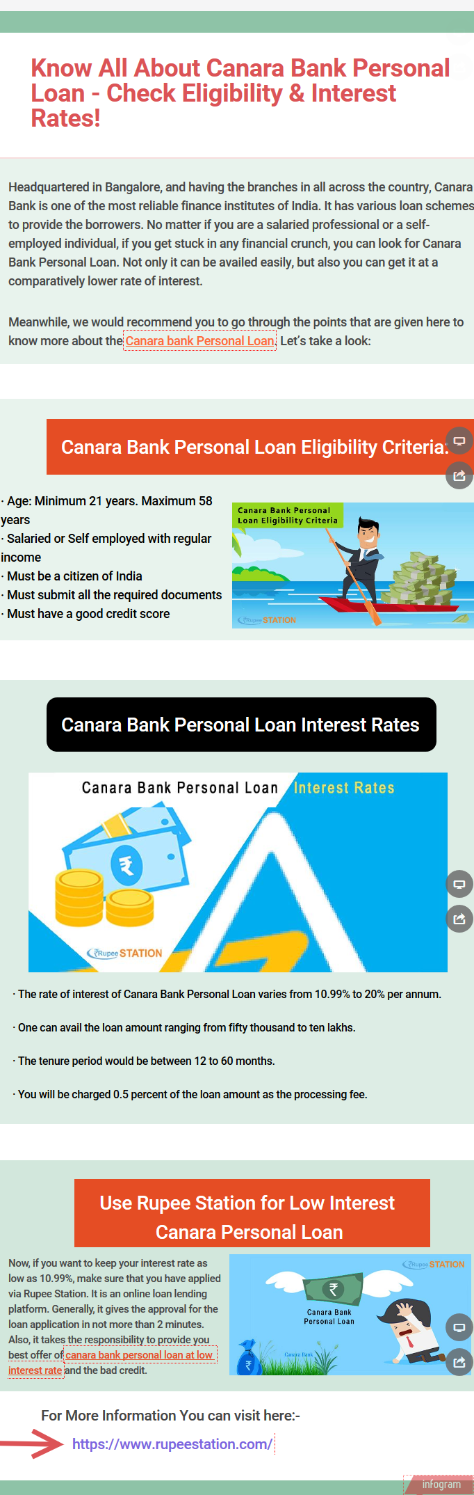 Know All About Canara Bank Personal Loan Check Eligibility Interest Rates Canarabankpersonalloan Canarabankpersonal Personal Loans Interest Rates Person