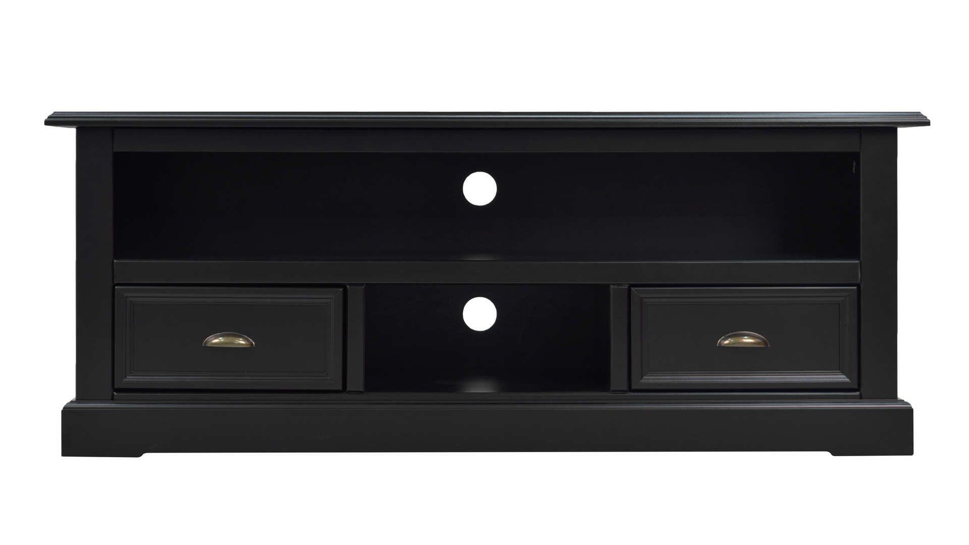 Meuble Tv Ebony Coloris Noir Meuble Conforama