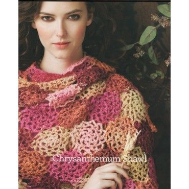 Crochet Noro Chrysanthemum Shawl | Homemade | Pinterest