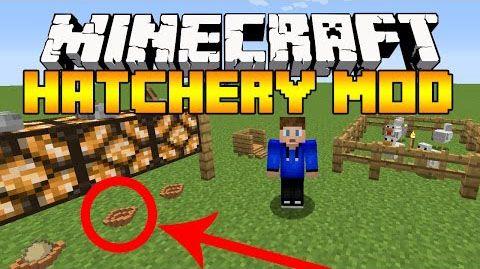 Hatchery Mod 1 10 2 Minecraft Mods 1 10 2 New Chicken Mating Ai Nest For Hatching Eggs Chickens Mod Support Waila Supp Minecraft 1 Minecraft Minecraft Mods
