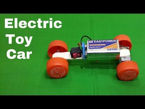 How To Make A Homemade Toy Electric Car Using Waste Materials You