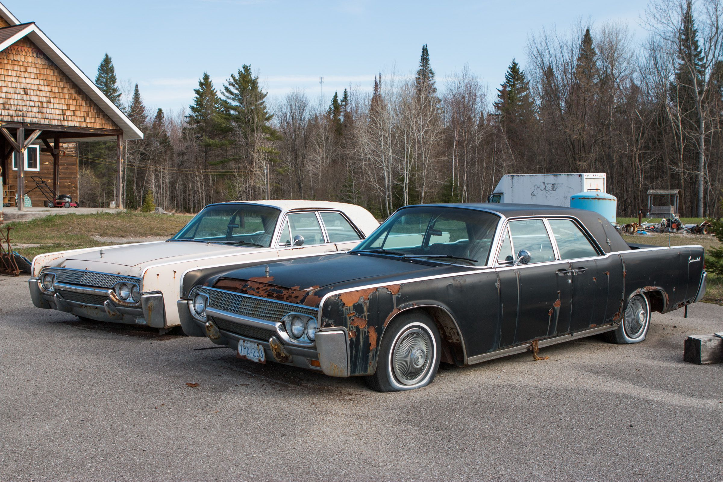 1961 Lincoln Car Abandoned Cars New Cars