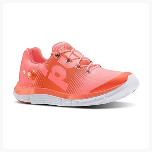 1abcfe02e901 Reebok ZPump Fusion Womens Running Shoe 6 Coral-Tangerine-White ( Partner  Link