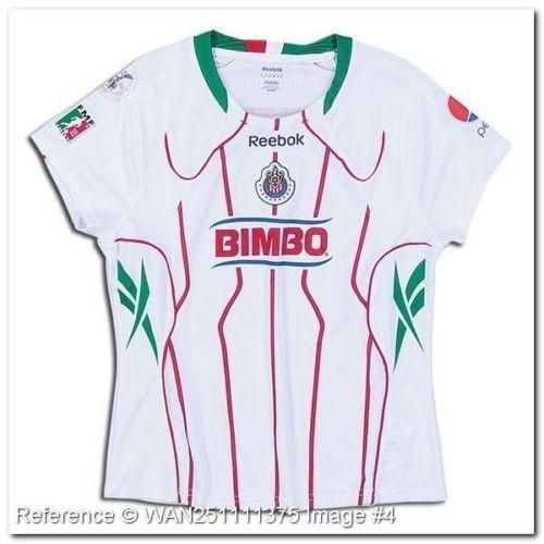 Soccer-International Clubs Fan Apparel & Souvenirs REEBOK CHIVAS DE GUADALAJARA WOMEN'S HOME JERSEY 2010/11