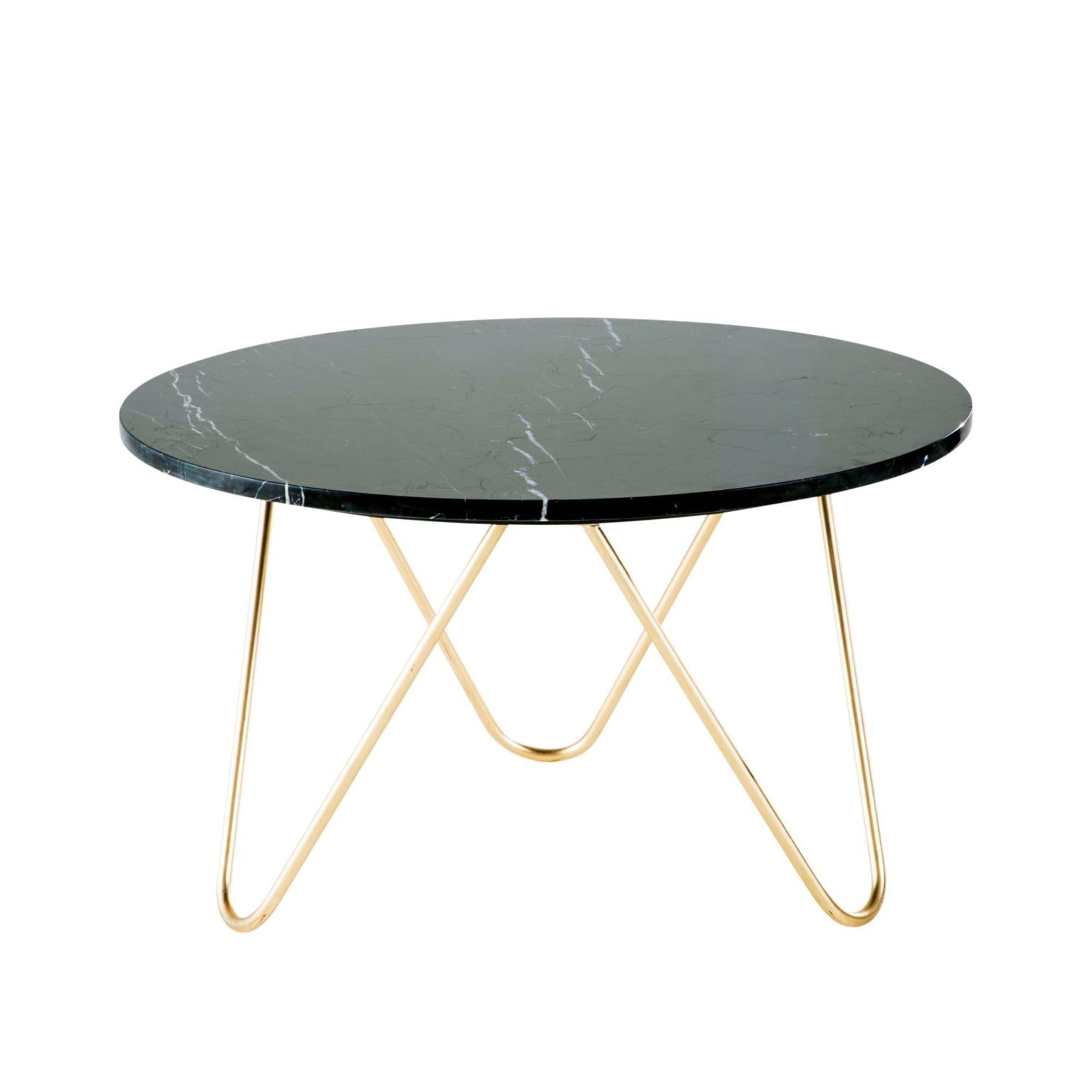Salontafel Van Zwart Marmer En Goudkleurig Metaal Eagle Table Basse En Marbre Noir Table Basse Marbre Table Basse Rangement