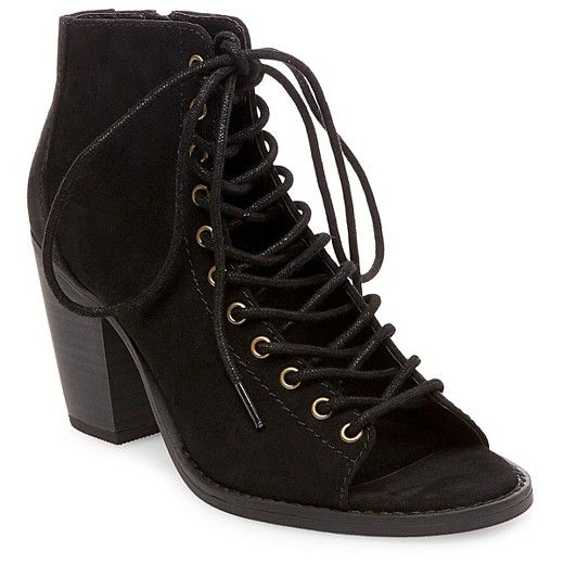 Women's Phobe Lace Up Booties - Mossimo Supply Co.™ : Target