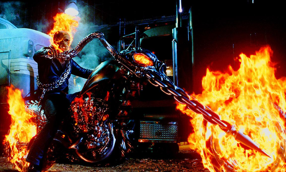 Ghost Rider - Side View by hdavispi | Ghost rider wallpaper, Ghost rider motorcycle, Ghost rider movie
