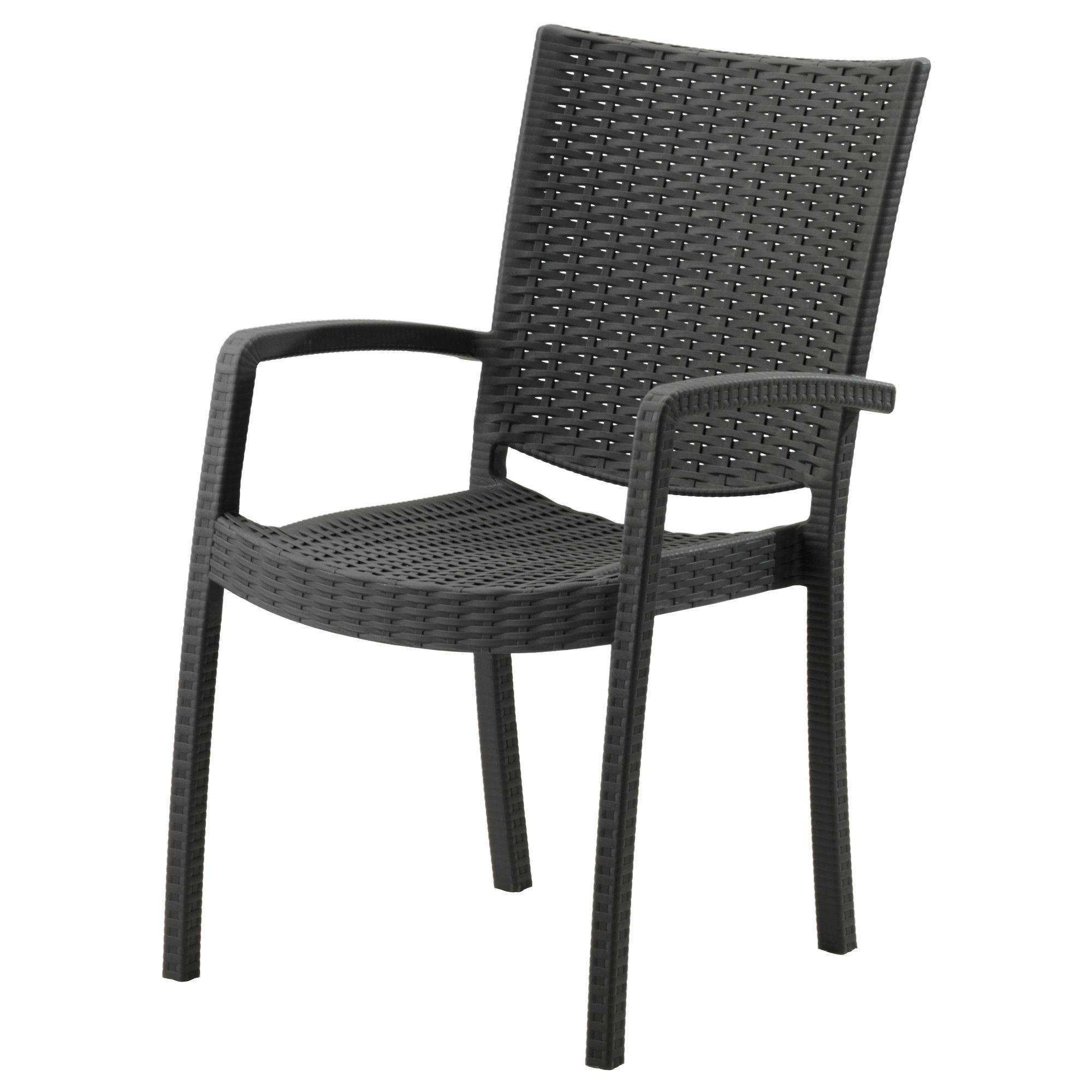 IKEA   INNAMO, Armchair, Outdoor, Dark Gray, , You Can Have Several