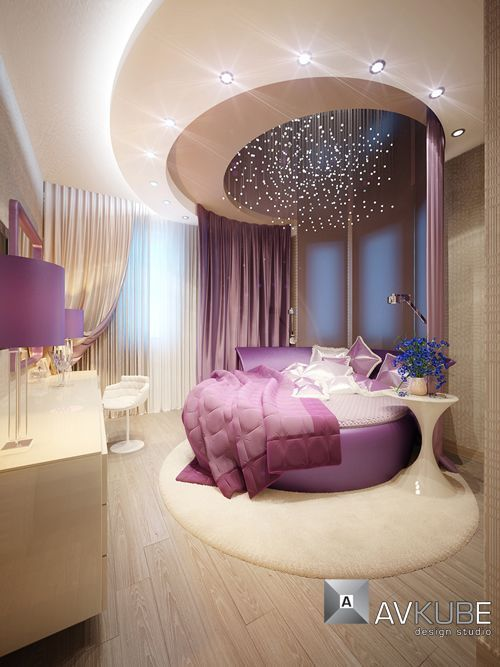 10x10 Room Ideas For Bedrooms: 19 Extravagant Round Bed Designs For Your Glamorous
