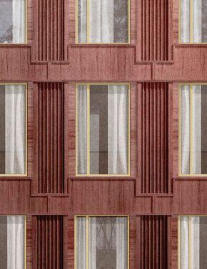2. Classic facade, Nik Vandewyngaerde, Academic #arquitectonico