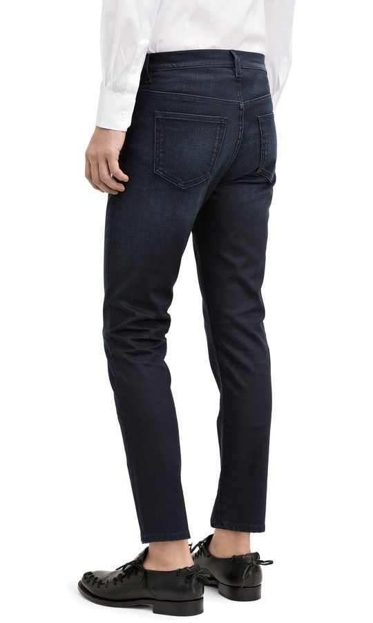 15c363f705e Acne Studios Town twilight Cropped tapered jeans