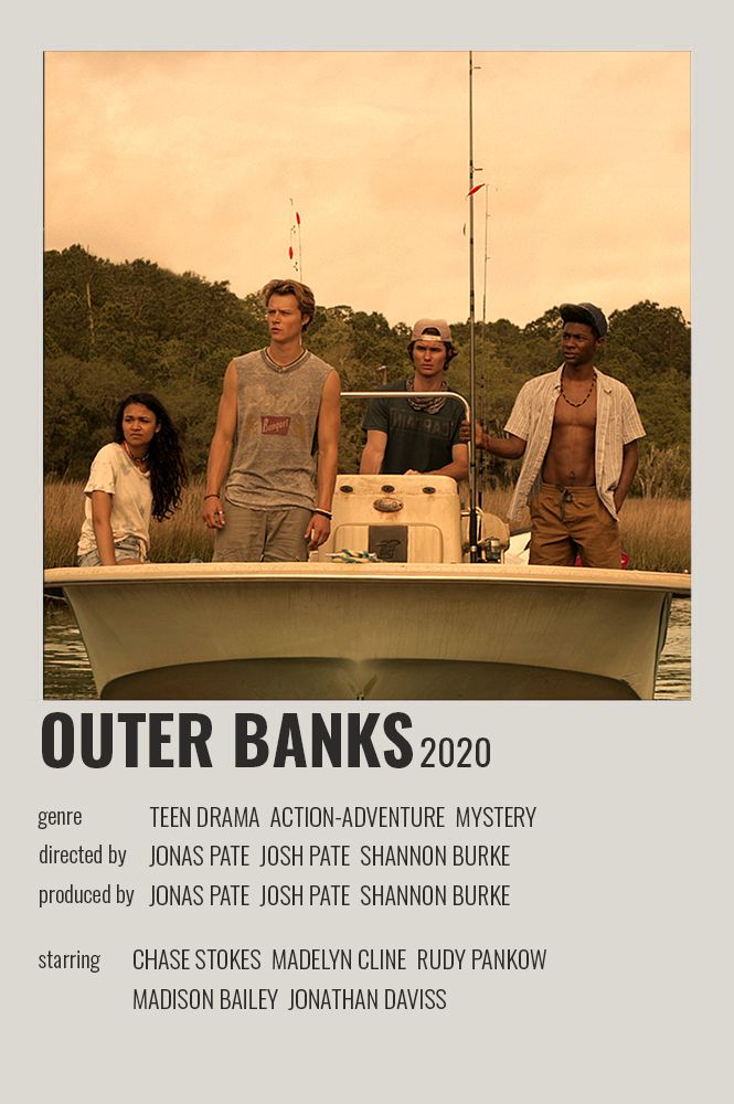 outer banks polaroid poster movie