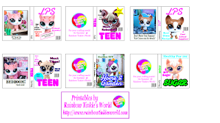 Vêtements et accessoires made for LPS Littlest Pet Shop