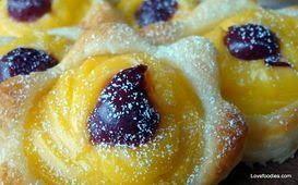 {Daily Dish Recipe} Custard Pastries - Daily Dish Magazine