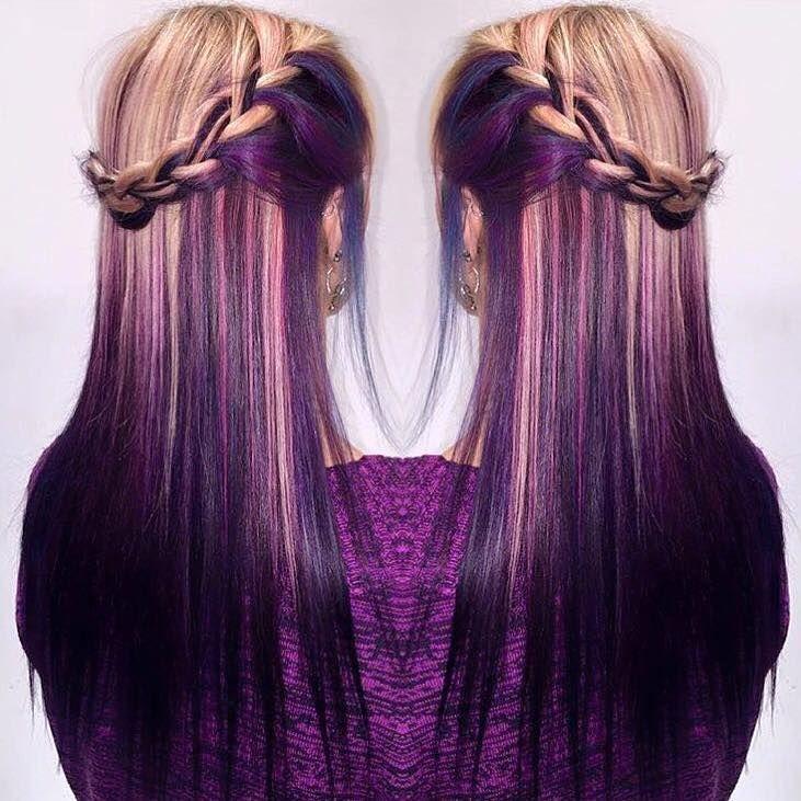 Pin By Kate Poisonousvenom017 On Dyed Hair Ideas Pinterest