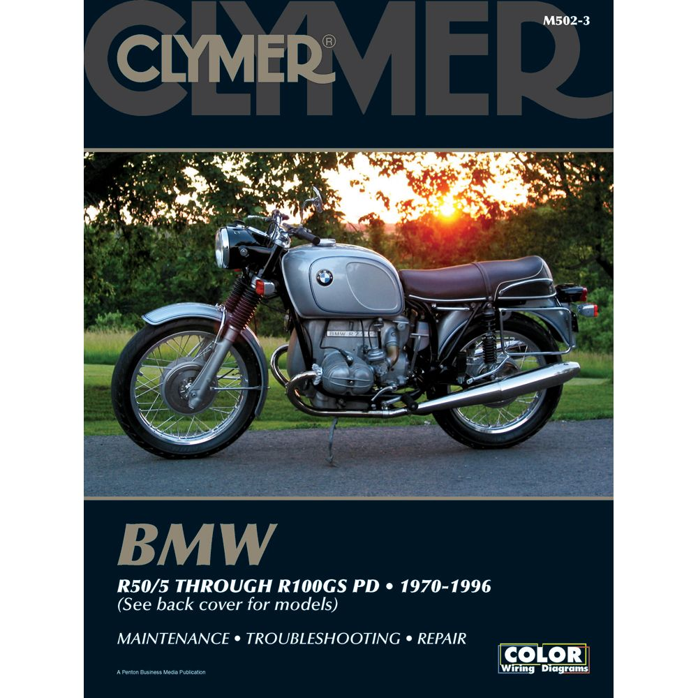 Clymer BMW R50/5 Through R100GS PD (1970-1996) -  https://www.boatpartsforless.com/shop/clymer-bmw-r505-through-r100gs-pd-1970 -1996/
