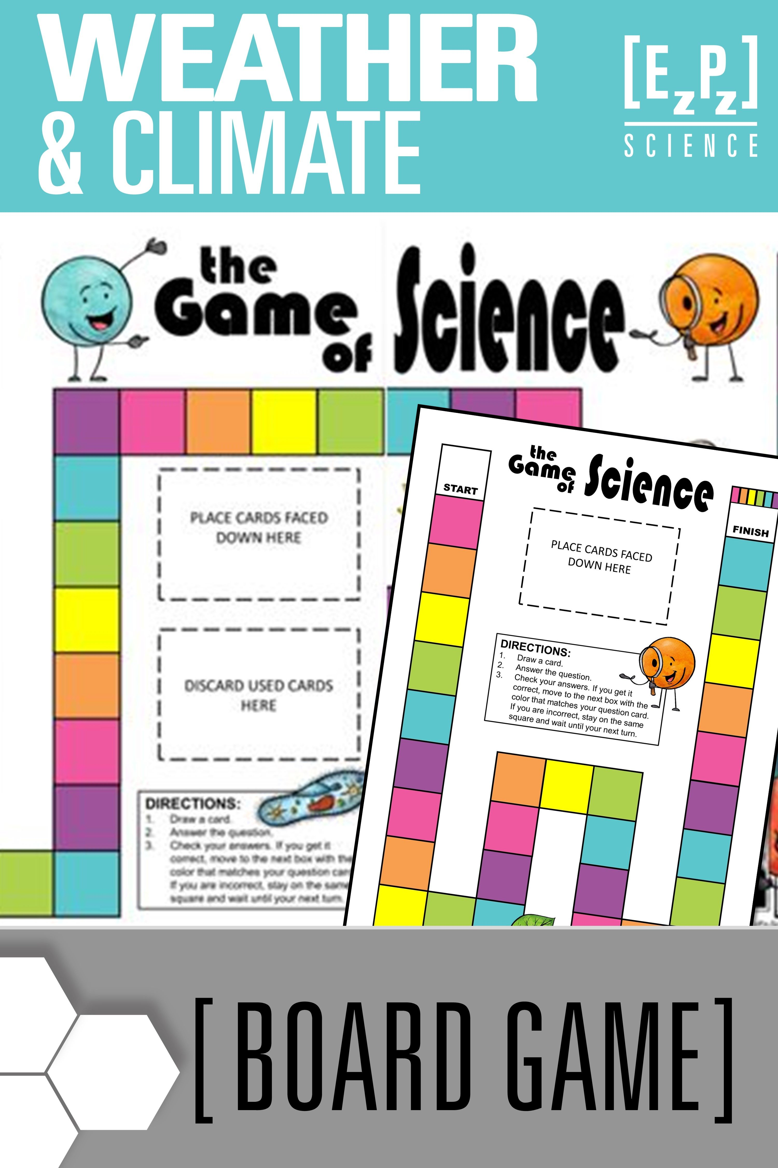 Weather And Climate Science Board Game Review