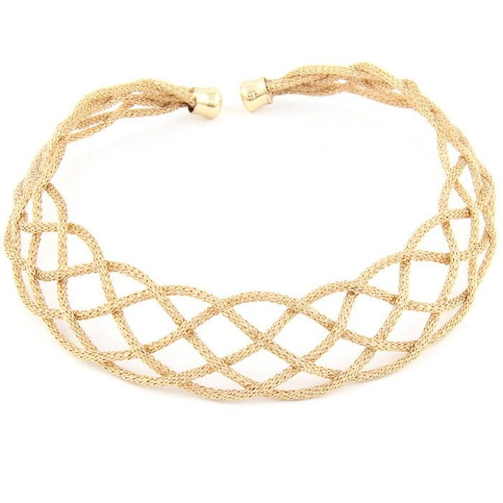 Gold Choker Necklace from LaTor-Gray Designz for $10.00