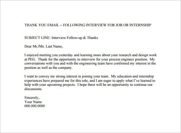 Interview Thank You Letter Subject from i.pinimg.com