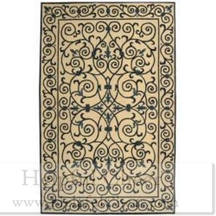 Safavieh Hand-hooked Chelsea Irongate Ivory Blue Wool Rug 7 x27 6 x 9 x27 9 - at O