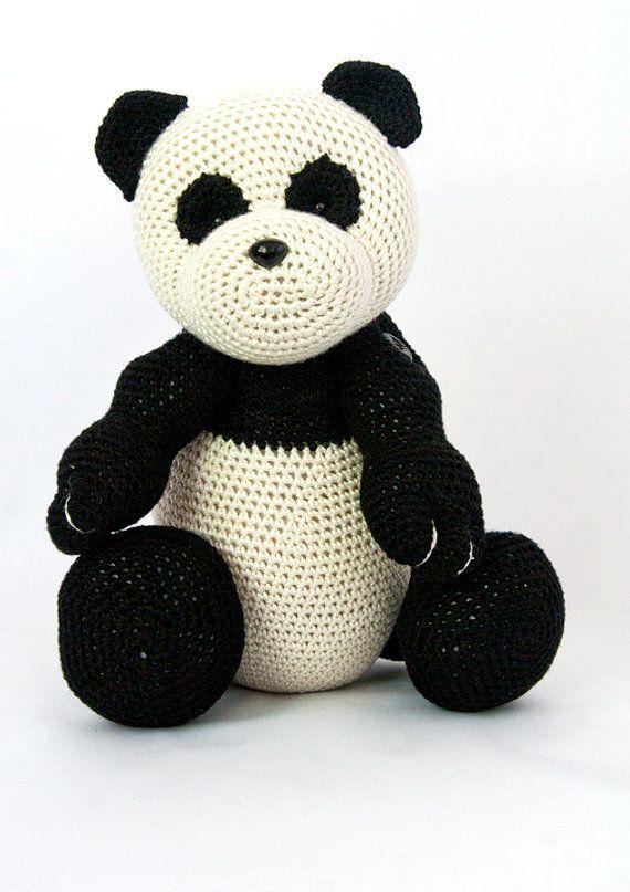 Amigurumi Crochet, Mei the Panda - Pattern Only | Crafty Threads ...