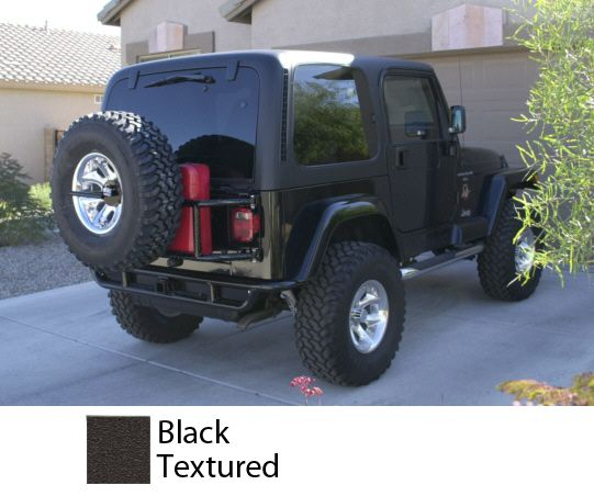 Orfab Swing Away Tailgate Tire Jerry Can Carrier 600 Jeep