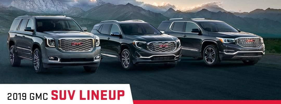 Check Out Of New Lineup Of Gmc Suvs Gmc Dealerships Gmc Suv Gmc