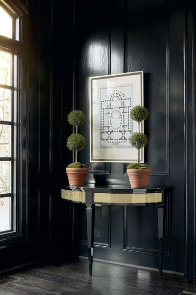 My Avondale Console, featuring a highly polished finish, makes a striking addition to the entrance hall or living space.