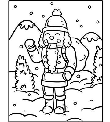 Printable Holiday Coloring Pages | Coloring pages ...