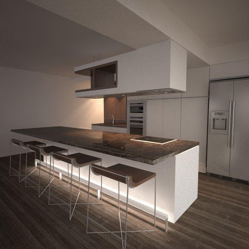 Proyecto de remodelación para una apartamento de playa en Catia La ...
