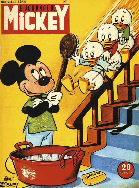 journal de mickey num ro 1 nouvelle dition le 29 mai 1952 le journal de mickey pinterest. Black Bedroom Furniture Sets. Home Design Ideas