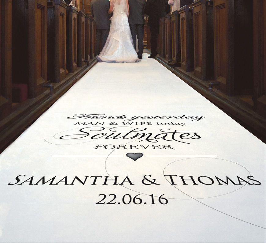 Personalized Wedding Aisle Runner Cheap Aisle Runner Wedding