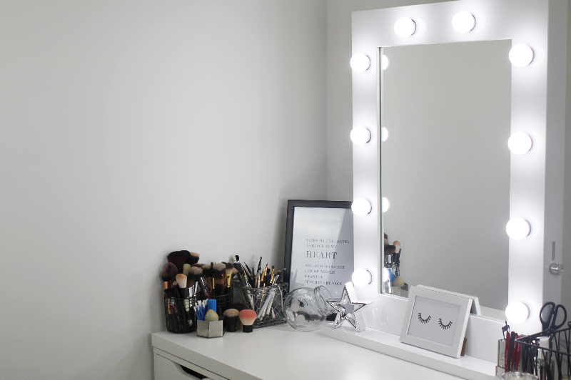 Diy Vanity Mirror With Lights For Bathroom And Makeup Station New