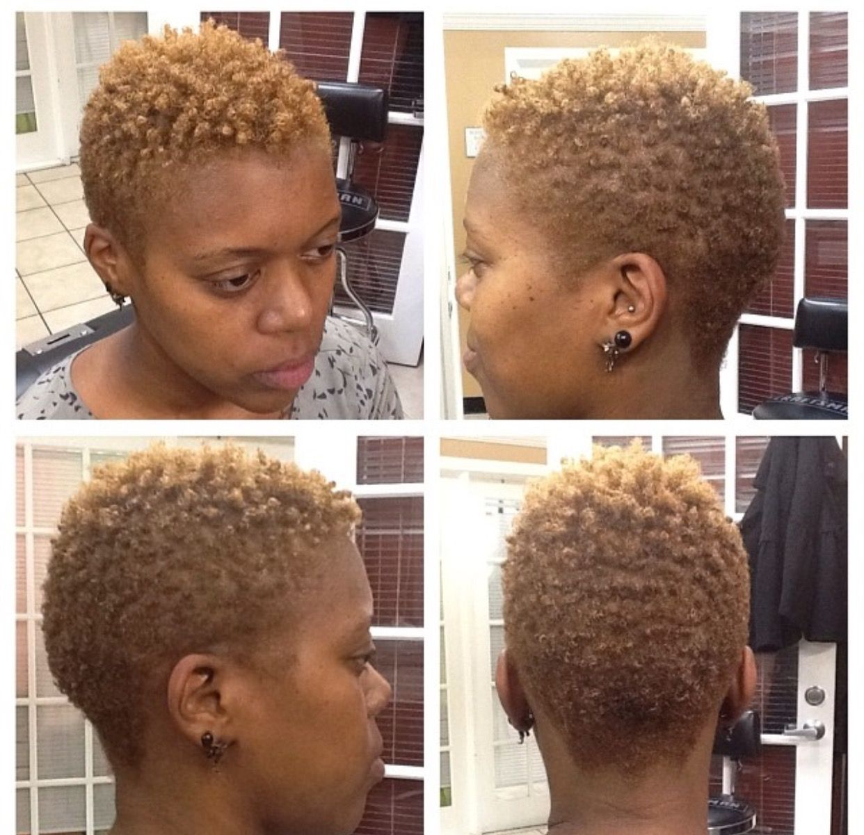 Pin By Caroline D On Short Natural Hair Styles Natural Hair Twa Short Natural Hair Styles Tapered Natural Hair