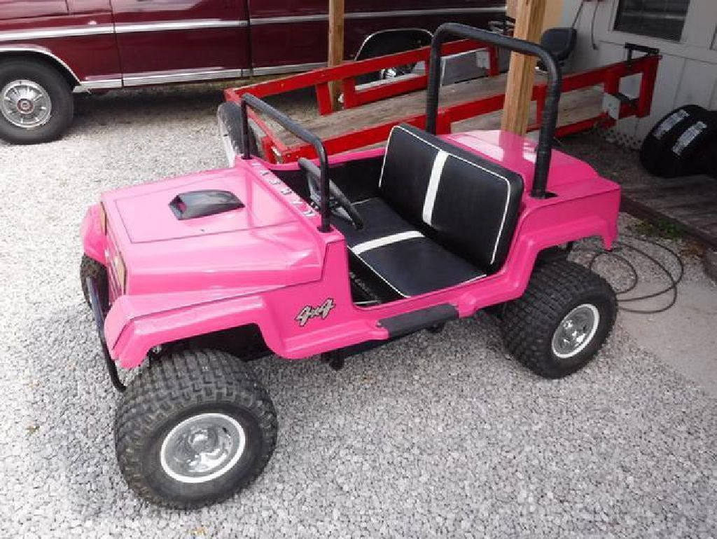 Mini jeep car toys  Pink FourWheeler Sporting Goods  Louisville KY at Geebo  Toys