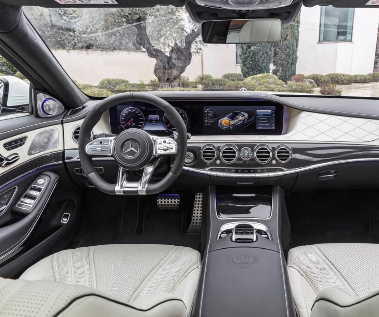 All new 2018 MercedesBenz S63 AMG interior. Luxury cars