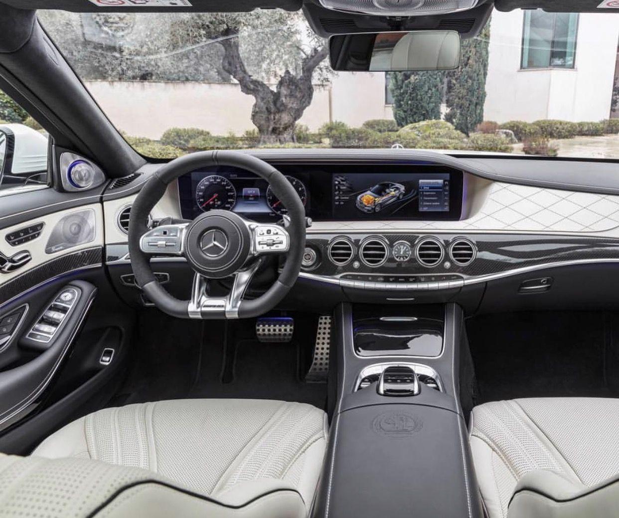 All New 2018 Mercedes-Benz S63 AMG Interior.