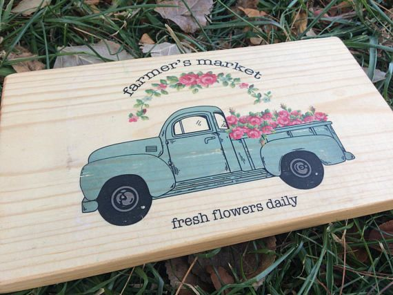 Rustic Old Pink And Blue Truck Decor For Any Home Nothing Beats An