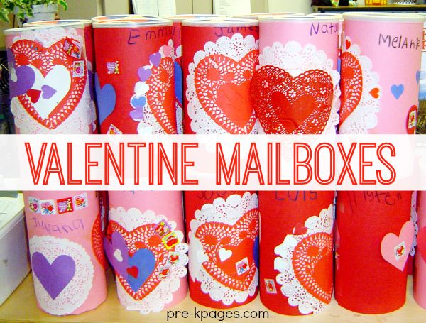 easy oatmeal valentine mailboxes for kids to make in preschool and kindergarten very sturdy - Kindergarten Valentine Ideas