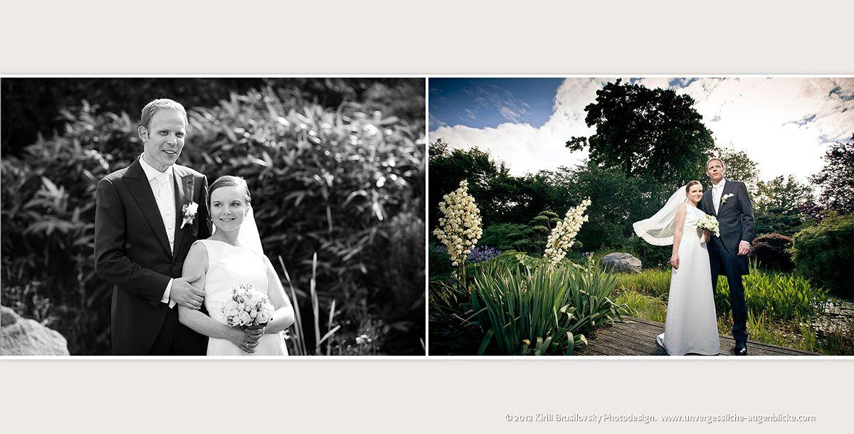 Hochzeitsfotograf Hamburg Dipl.-Des. Kirill Brusilovsky: Als Hochzeitsfotograf in Hamburg Schloss Tremsbüttel unterwegs
