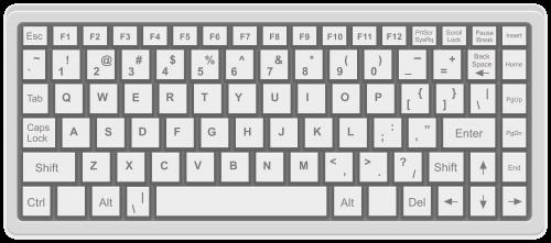 Computer Keyboard Png Clip Art Computer Keyboard Keyboard Clip Art