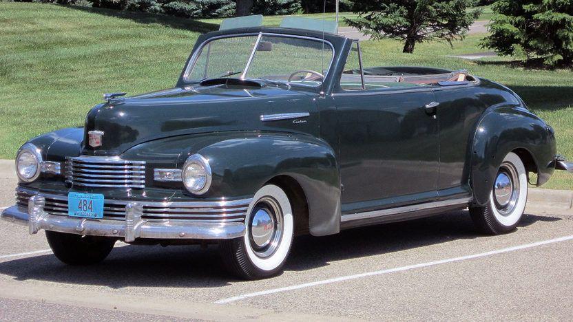 1948 Nash Ambassador Cabriolet