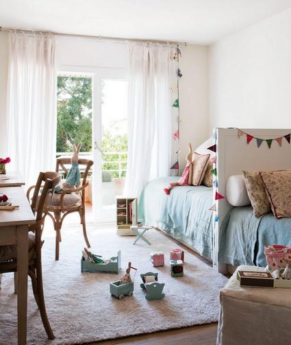 Ideas para dormitorios infantiles compartidos h - Decoracion de interiores infantil ...