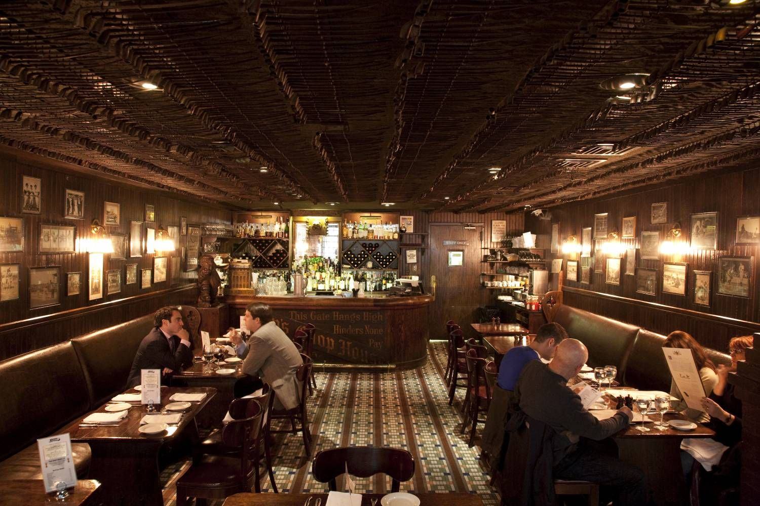 Keens Steakhouse New York Steak House Steakhouse Design Restaurant New York