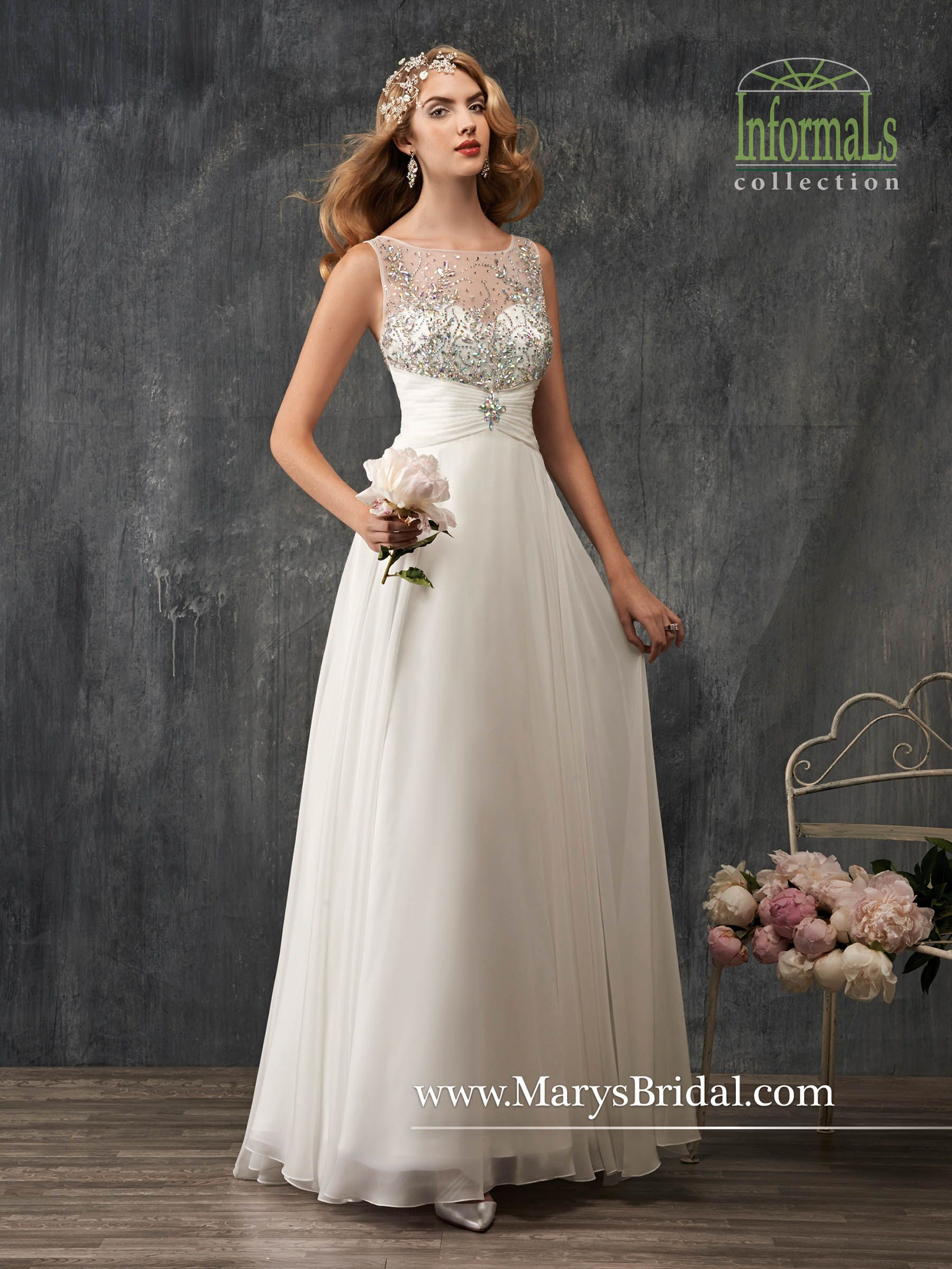 Amazing Mary us Bridal informal collection