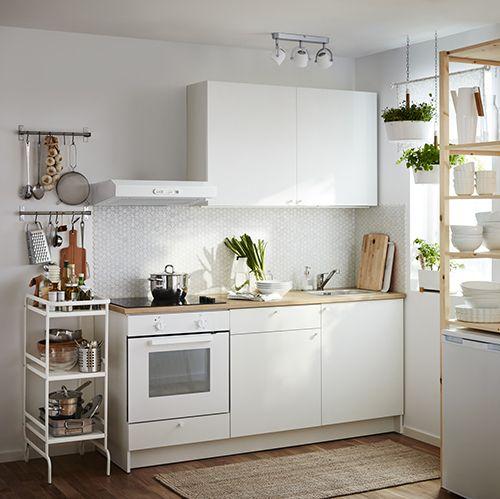 KNOXHULT Cuisine Complète Ikea Idées Deco Pinterest Ikea - Ikea meuble cuisine bas 30 cm pour idees de deco de cuisine