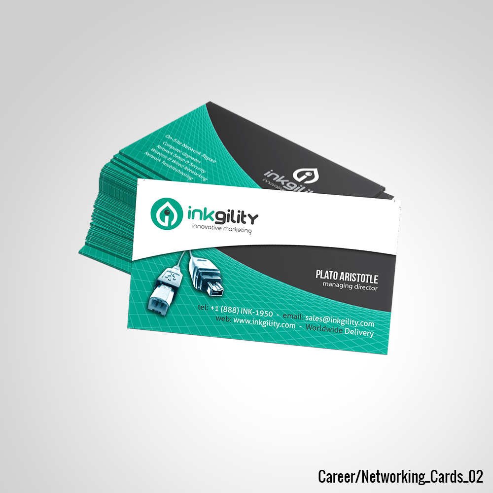 Career/Networking Cards | Career/Networking Business Cards ...